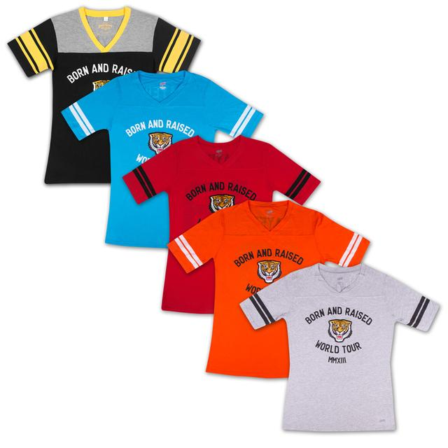 John Mayer Ladies Tiger World Tour Football Jersey