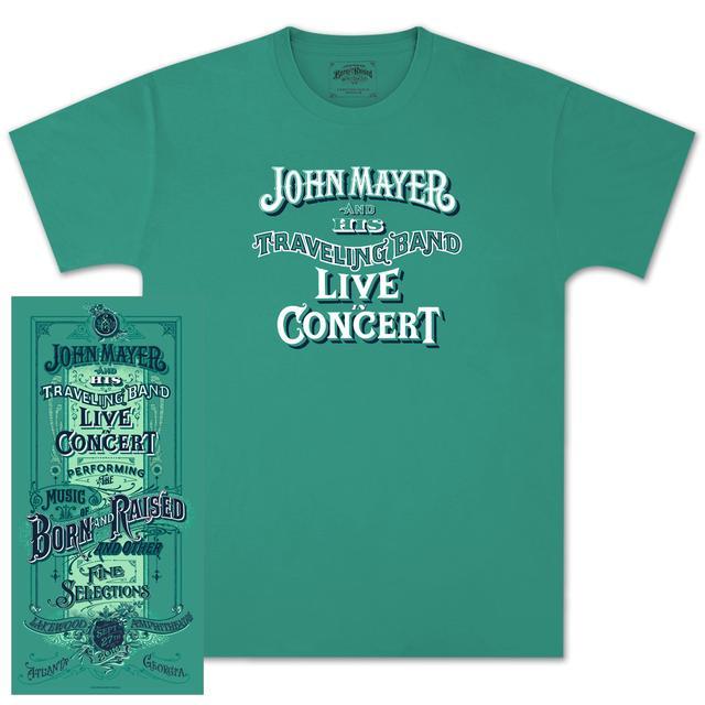 John Mayer Atlanta Event T-Shirt