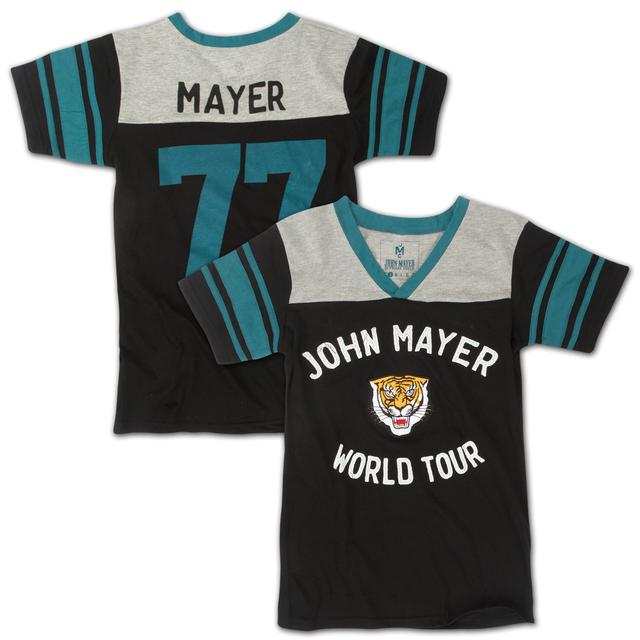 John Mayer Ladies Tiger Football Jersey