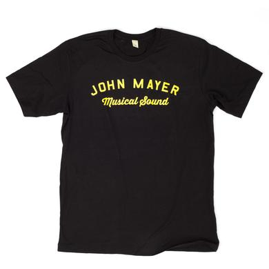 John Mayer JM Musical Sound Logo T-shirt
