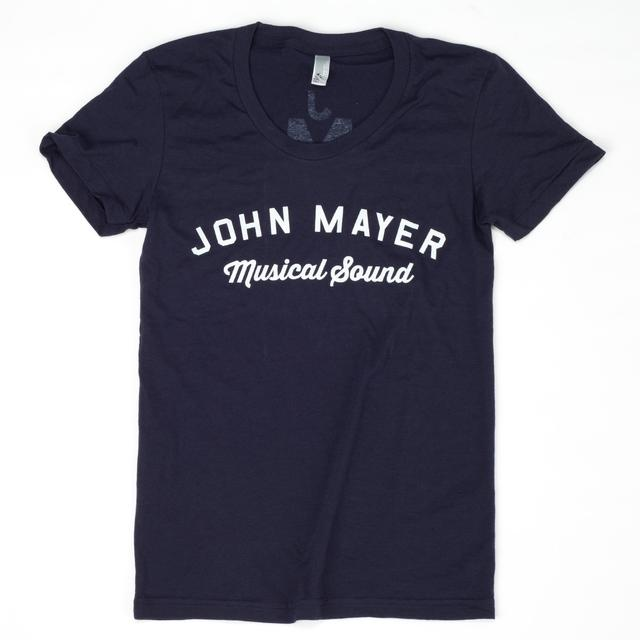 John Mayer Ladies Musical Sound Logo T-shirt