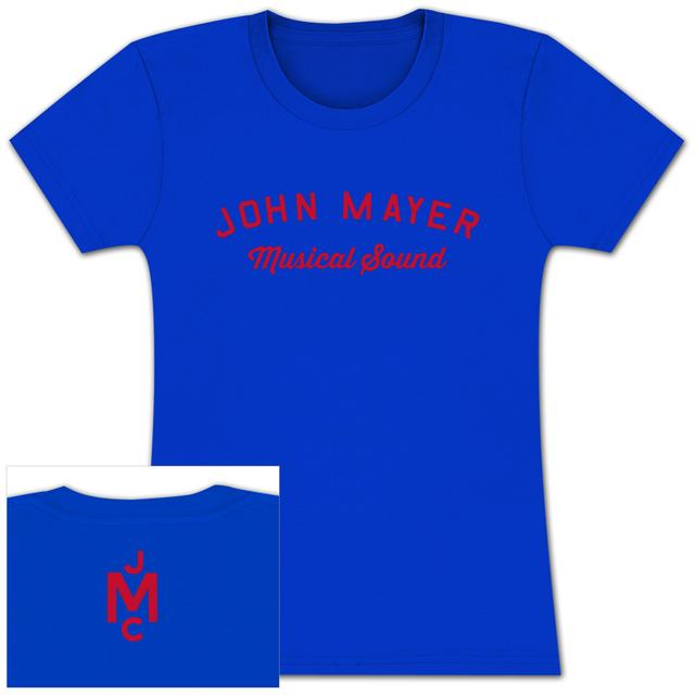 John Mayer Ladies Musical Sound Logo T-shirt
