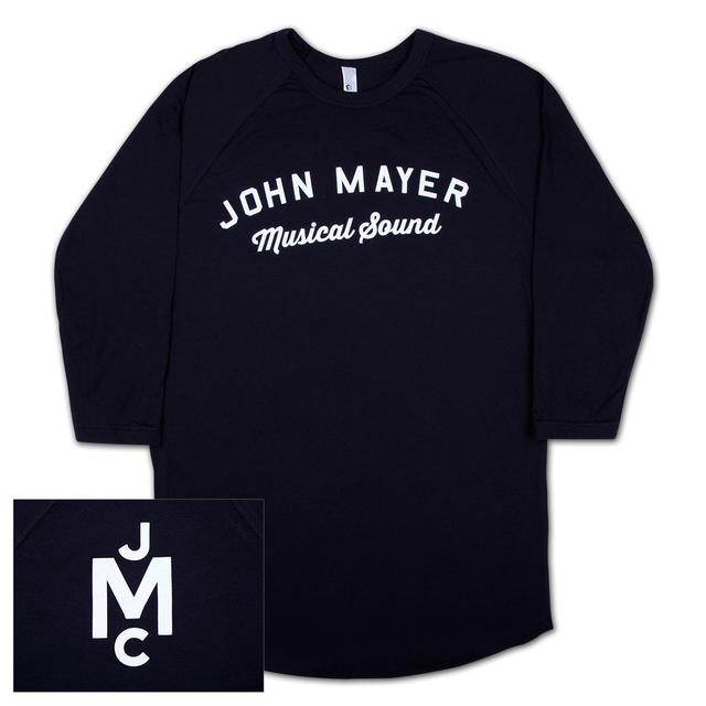 John Mayer Musical Sound Raglan