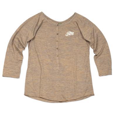 John Mayer JM Embroidered Women's Henley