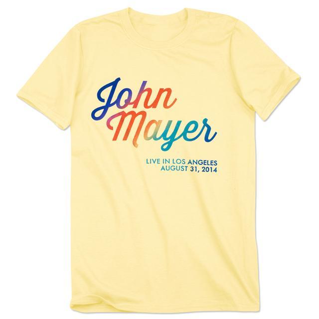 John Mayer Made In America Tour Unisex T-shirt