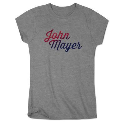 John Mayer Midtown Music Festival Ladies Event Tee