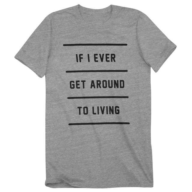 John Mayer If I Ever Get Around To Living T-Shirt