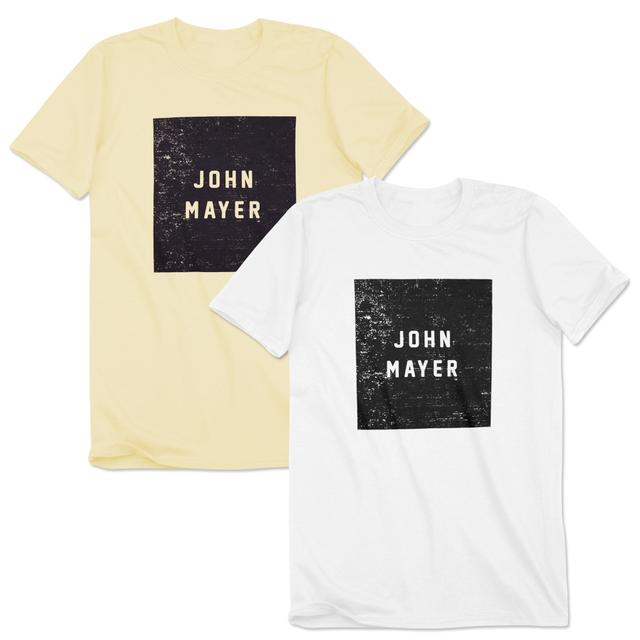 John Mayer Solid Block T-Shirt