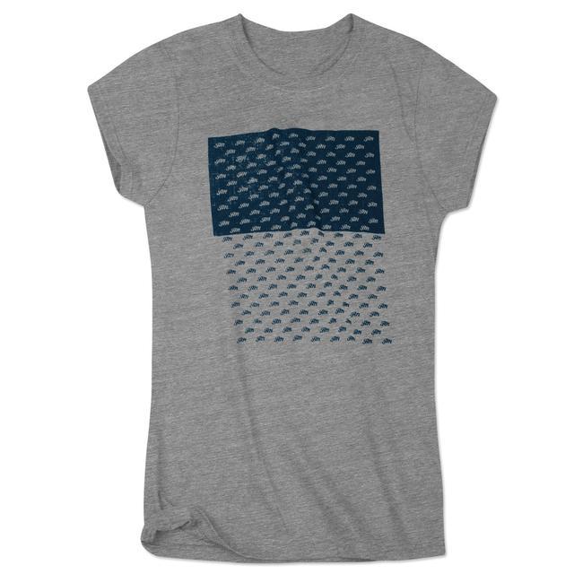 John Mayer Girls JM Script Pattern T-Shirt
