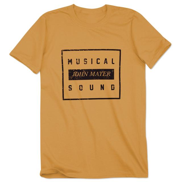 John Mayer Musical Sound Block Tee