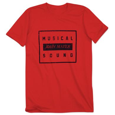 John Mayer Musical Sound Block Tee