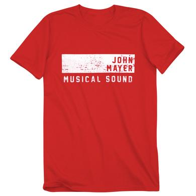 John Mayer Musical Sound Athletic T-Shirt