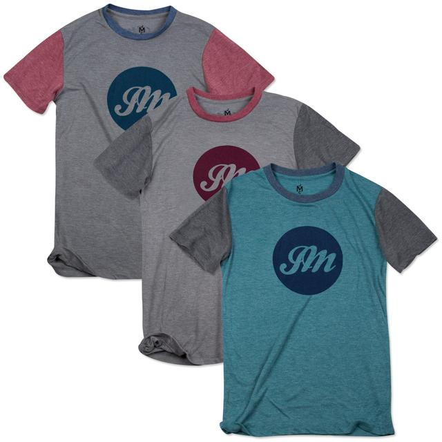 John Mayer Circle JM Script T-Shirt (Color Block)