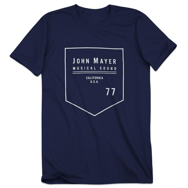 John Mayer Musical Sound Badge Unisex Tee