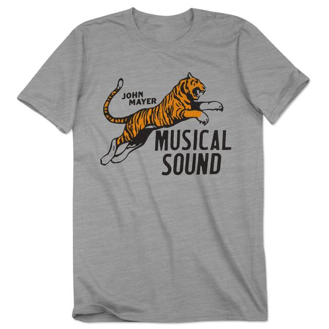 John Mayer Velva Sheen Musical Sound Tiger Shirt