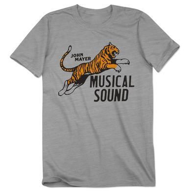John Mayer Velva Sheen Musical Sound Tiger Shirt