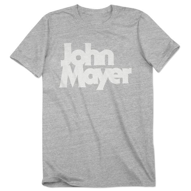 John Mayer Velva Sheen Bold Serif Shirt