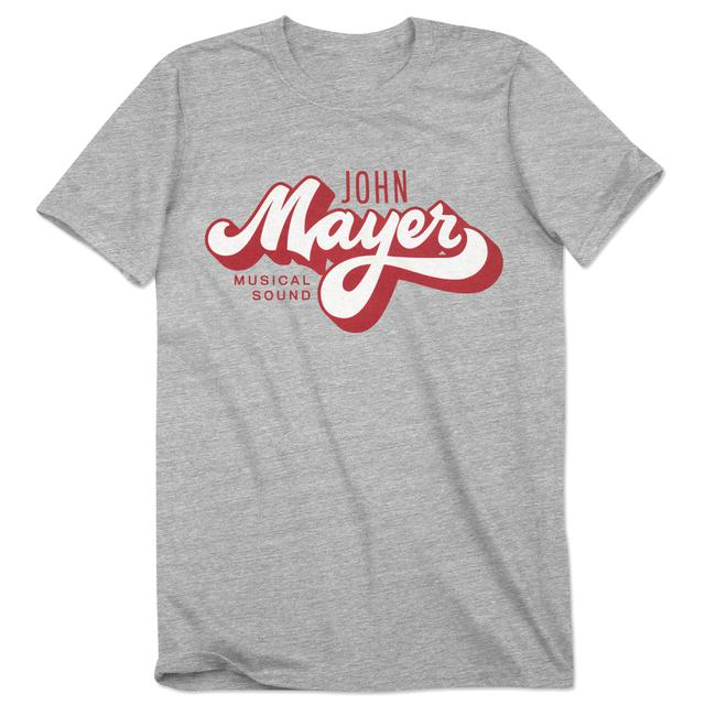 John Mayer Velva Sheen Brush Script Tee