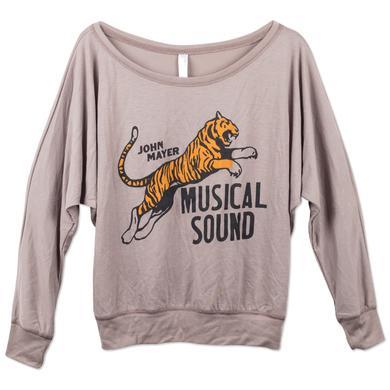 John Mayer JM Women's Longsleeve Slouchy Tiger Tee