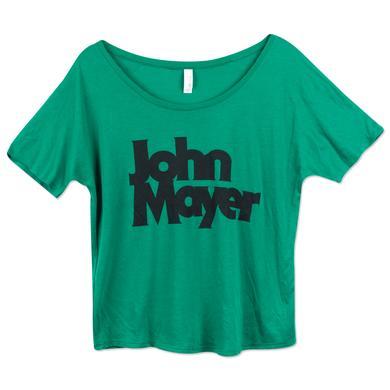 John Mayer Bold Serif Slouchy Tee