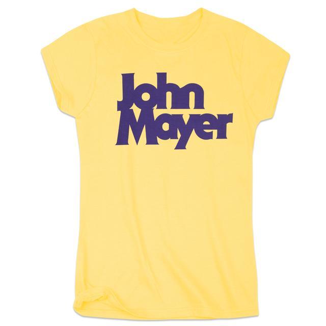 John Mayer Bold Serif Women's Tee