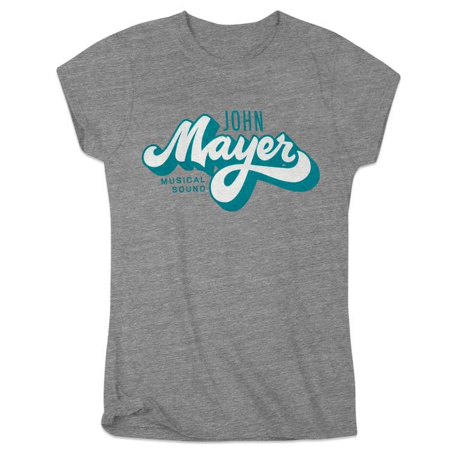 John Mayer JM Brush Script Womens Tee