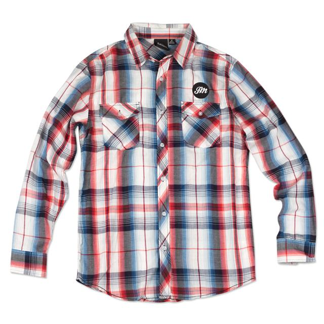 John Mayer Men's Western Plaid Shirt
