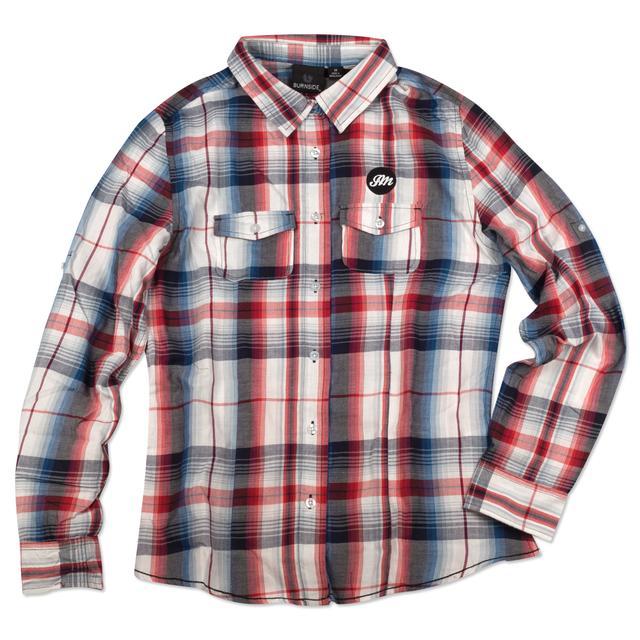 John Mayer Women's Western Plaid Shirt