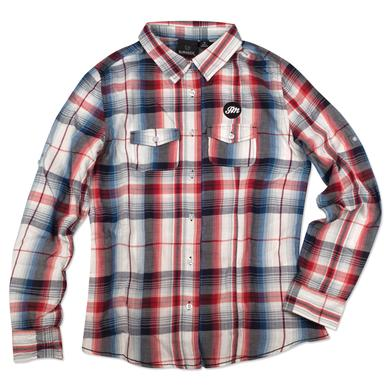 John Mayer Women's Western Plaid Shirt