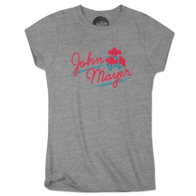John Mayer Women's Flower Tee