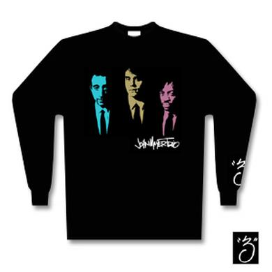 John Mayer Trio 3-Suits long sleeve T-Shirt