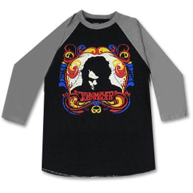 John Mayer Silhouette Longsleeve Baseball T-Shirt