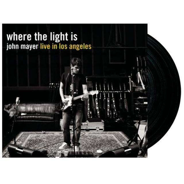 John Mayer Where the Light Is LP (Vinyl)