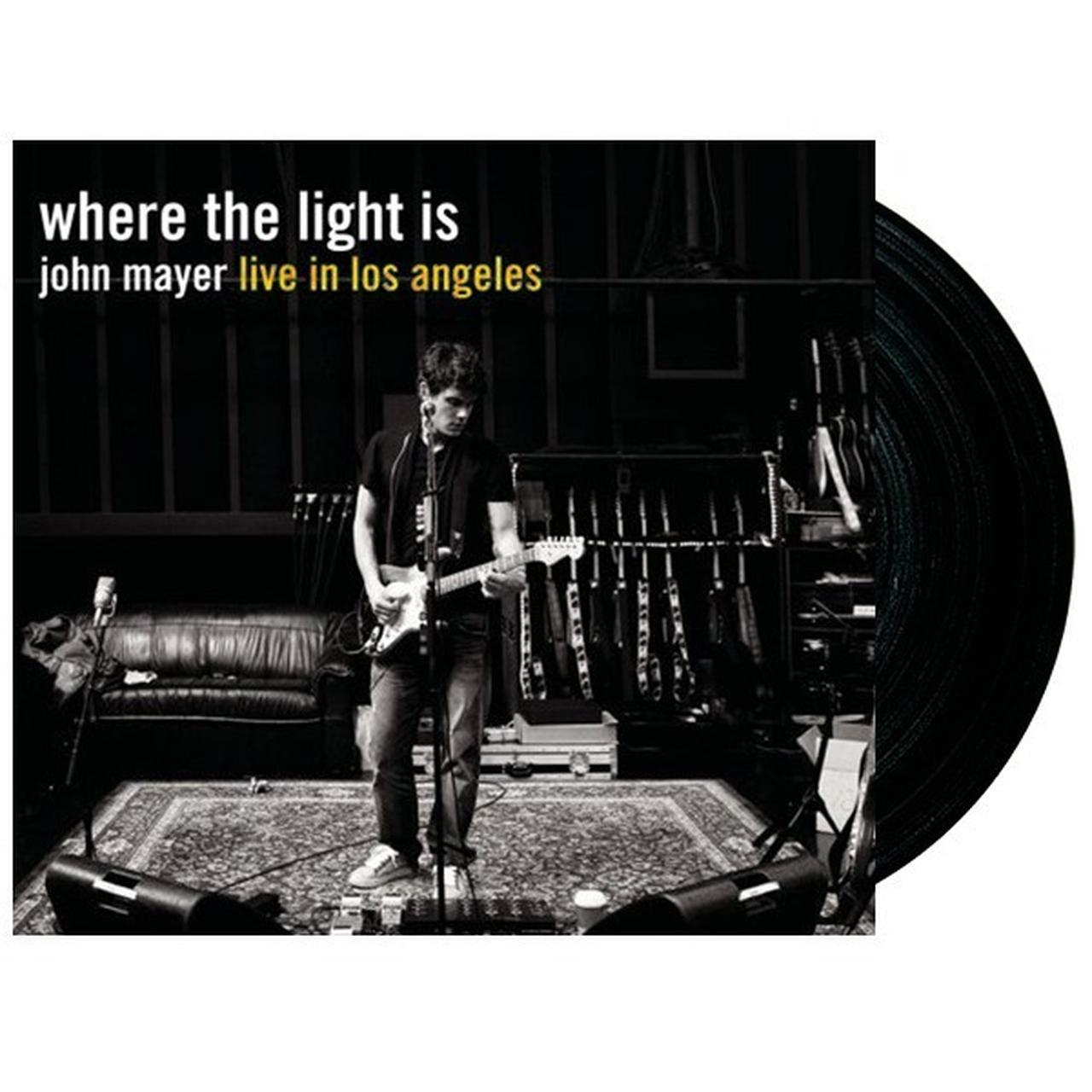 John Mayer Where The Light Is Lp Vinyl