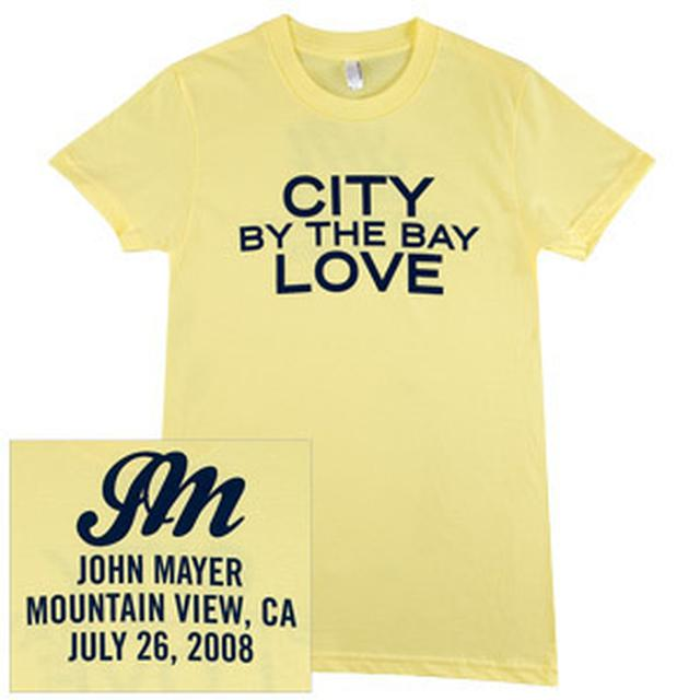 John Mayer - CITY by the bay LOVE (San Francisco) Girls T-Shirt