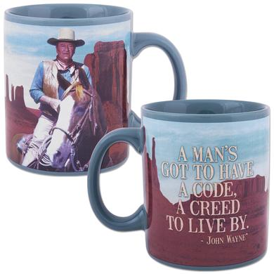 John Wayne Creed 12oz Ceramic Mug