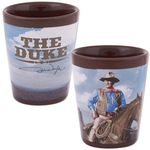 John Wayne Ceramic Shot Glass
