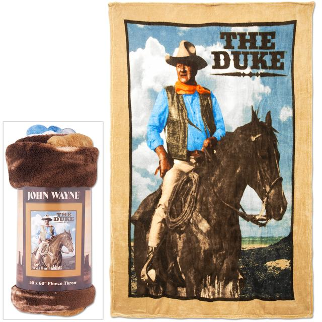 John Wayne Micro Fleece Throw Blanket