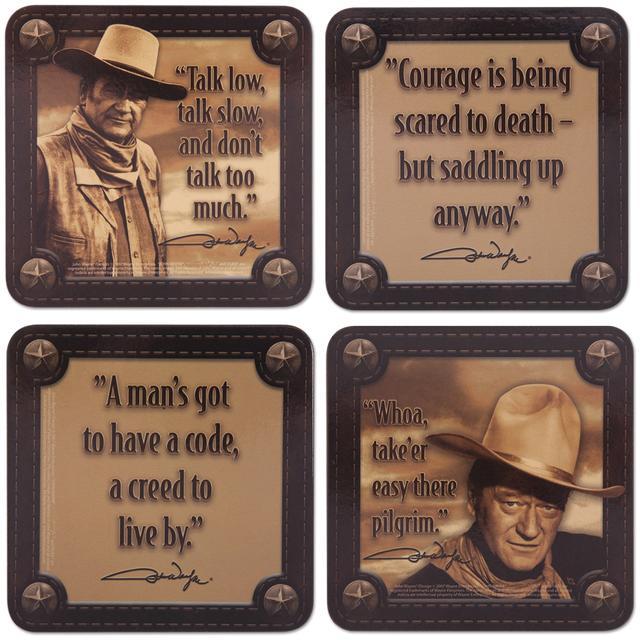 John Wayne Coaster Set