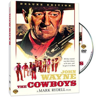 """John Wayne """"The Cowboys"""" (Deluxe Edition) DVD (1972)"""