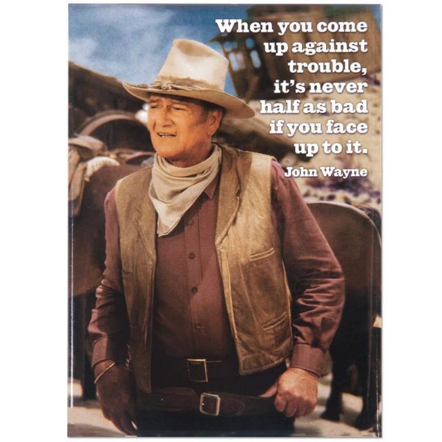 "John Wayne ""Trouble"" Magnet"