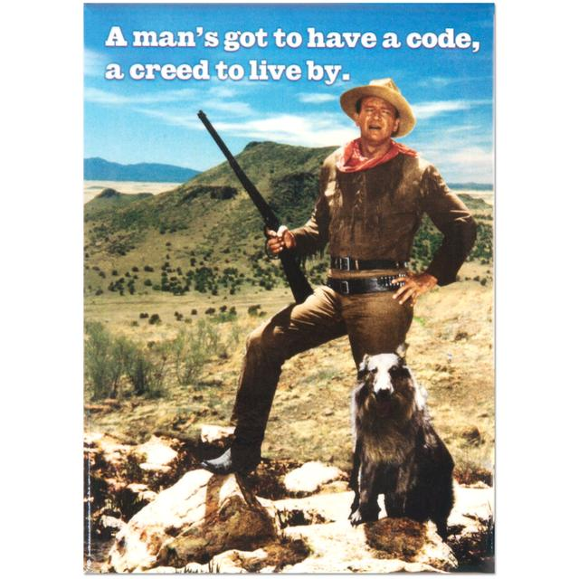 "John Wayne ""Creed"" Magnet"