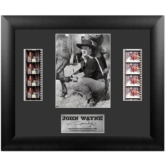 John Wayne S1 Collectible Double Framed FilmCell