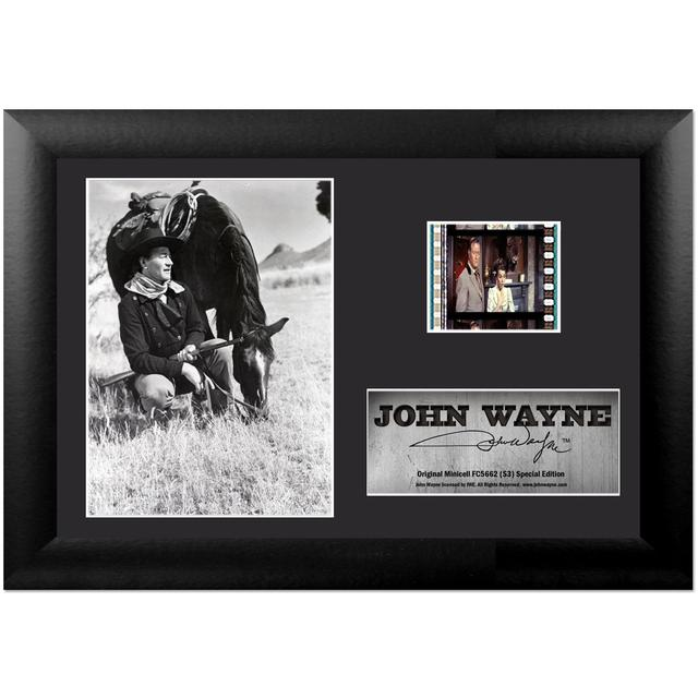 John Wayne S1 Collectible Framed FilmCell