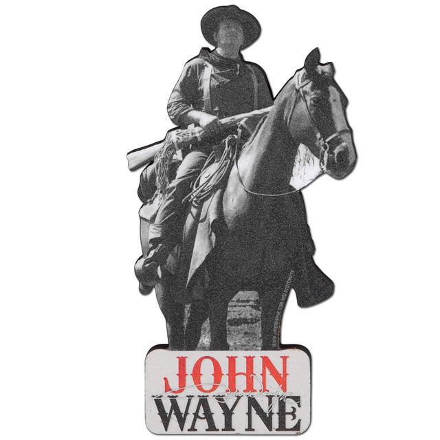 John Wayne Horse Fridge Magnet