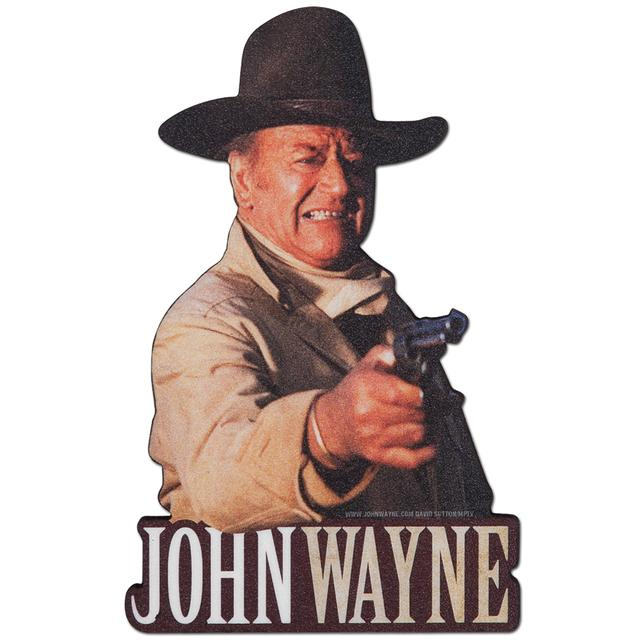 John Wayne Shoot Fridge Magnet