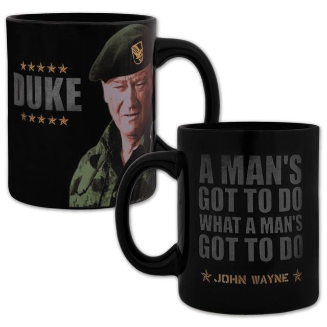 """John Wayne """"Green Berets"""" 12oz Ceramic Mug"""