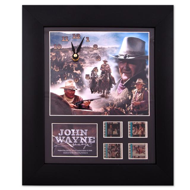 John Wayne Film Cell Clock - Series One