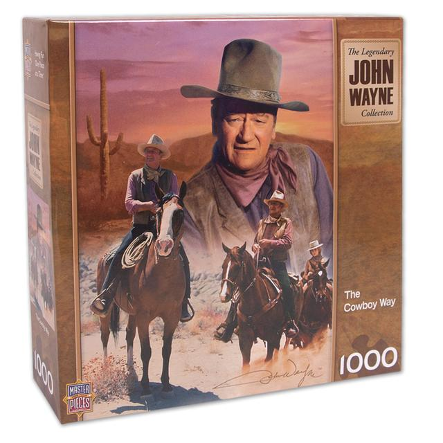 John Wayne The Cowboy Way 1000 pc puzzle