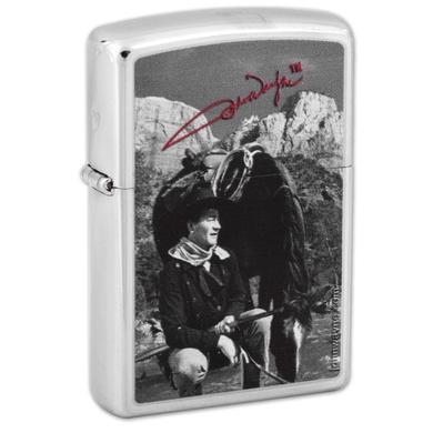 John Wayne Horse & Signature Zippo